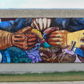 Untitled - Regina Union Centre mural