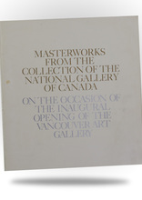 Related Product - Masterworks from the Collection of the National Gallery of Canada