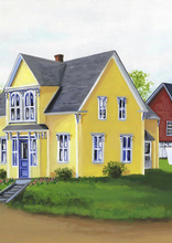 Yellow House in the Village