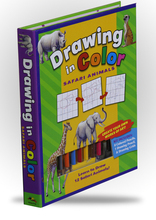 Drawing in Color - Safari Animals