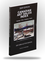 Canadian Art Sales Index - 2009 Edition