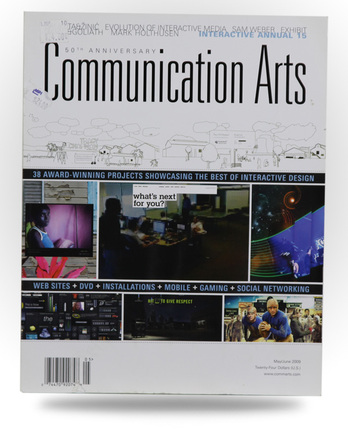 Communication Arts - Interactive Annual - Image 1