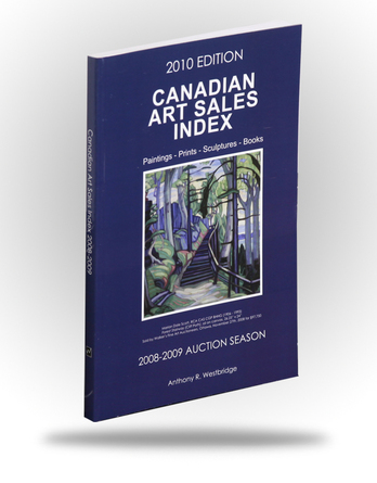 Canadian Art Sales Index - 2010 Edition - Image 1