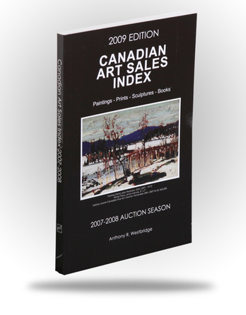 Canadian Art Sales Index - 2009 Edition - Image 1